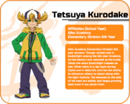 Tetsuya's Eng Profile