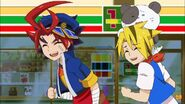 Gao and Noboru laugh