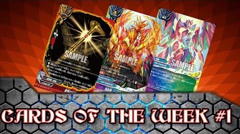 The Start of Season 4! Buddyfight X Card of the Day -- Week 1-0
