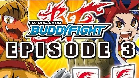 Episode 3 Future Card Buddyfight Animation