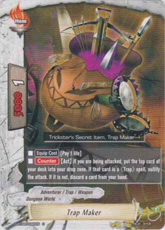 Trap maker