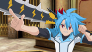 Tasuku with Demon Lord Sword, Dragoroyale
