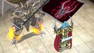 Tasuku with Purgatory Knights Leader, Demios Sword Dragon