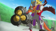 Thunder Knights, Drum Bunker Dragon (Buddy)
