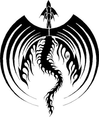 Tribal-large-wings-dragon-tattoo-design