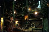 Buffy spike's factory indoor 3 set design