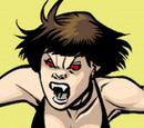 Brown-haired Dracula-worshiping vampire