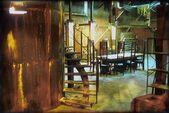 Buffy spike's factory indoor 2 set design