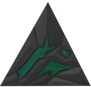 Copper ore equilateral triangle