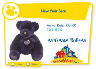 New Year Bear