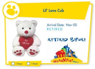 Lil' Love Cub