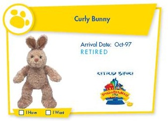 Curly bunny