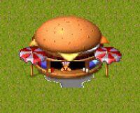 Theme Park Big Time Burger