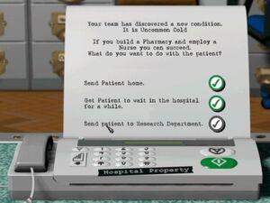 Theme Hospital cheats