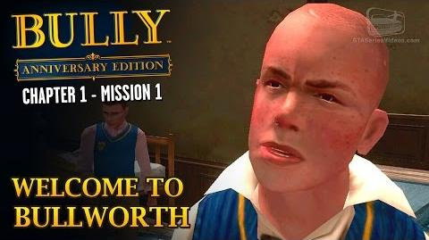 Welcome to Bullworth - Intro & Mission -1 - Bully- Anniversary Edition