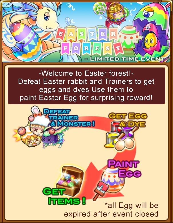 """""""Easter Forest"""" event rules"""
