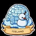 Location iceland icon