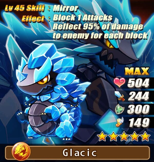 Feature Monster - Glacic