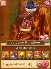 Location-volcano kingdom