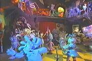 Dancing characters