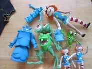 Bump in the Night characters toys