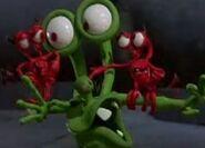 Mr Bumpy's shoulder devils