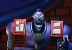 Destructo singing karaoke