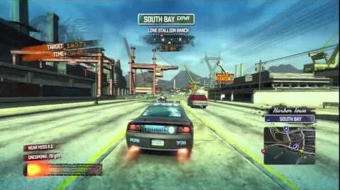 Burnout Paradise - Citizen Burning Route
