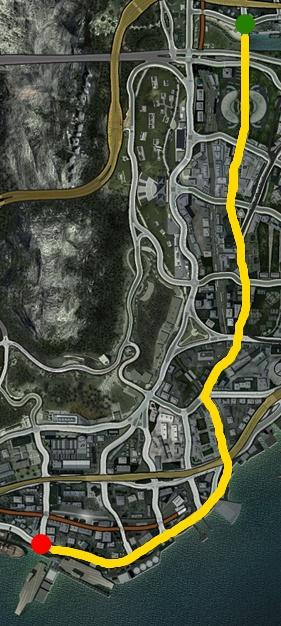 Pioneer Burning Route
