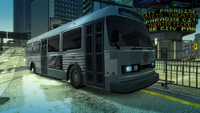 Traffic bus city