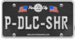 XLR-LicensePlate