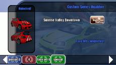 Championship stage 15 - Custom Series Qualifier - B2 menu