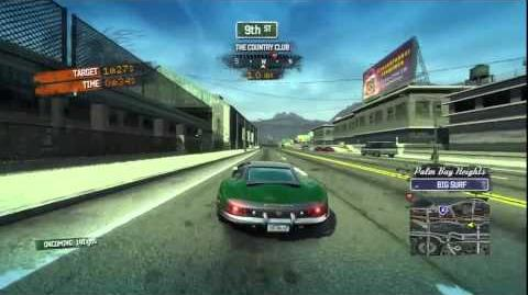 Burnout Paradise - Hyperion Burning Route