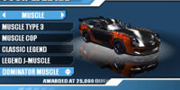 Dominator Muscle (Burnout Legends)