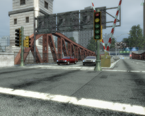Traffic Light Pole Rear