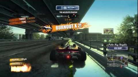 Burnout Paradise - Racing WTR Burning Route