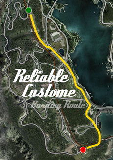 Reliable Custom Burning Route