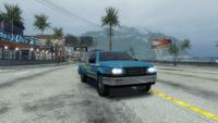Traffic truck pickup