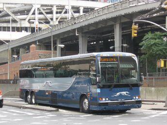 Greyhound Prevost X3-45 (2009 scheme)