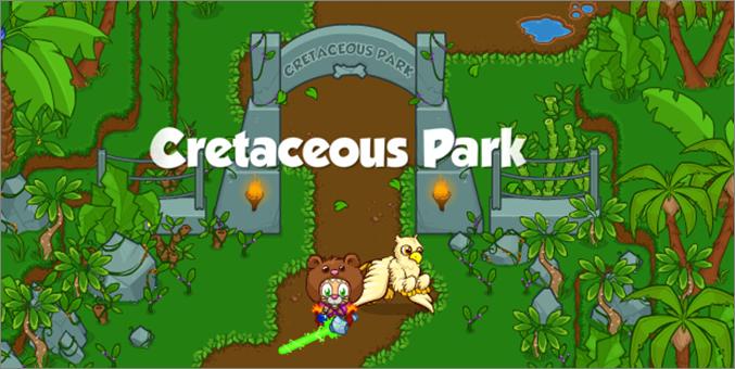 Cretaceous Park Banner