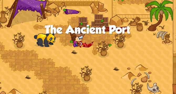 The Ancient Port Banner