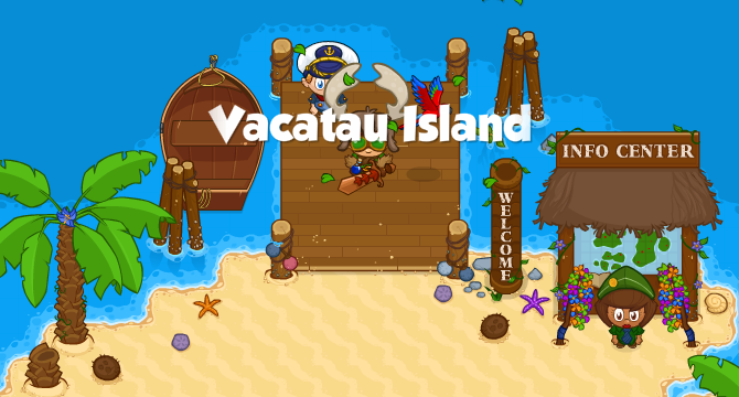 Vacatau Island Banner