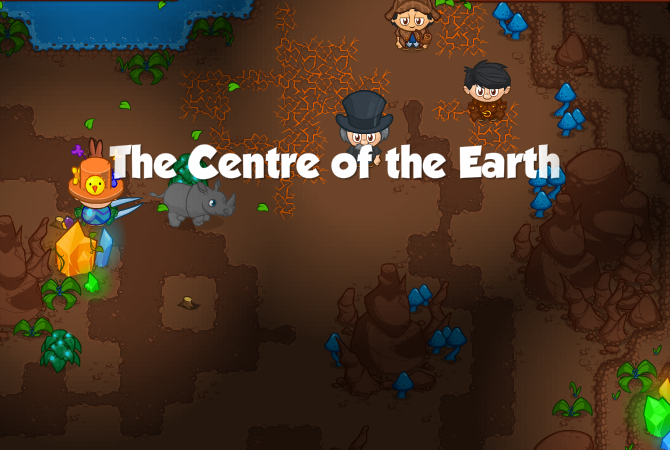 The Centre of the Earth Banner