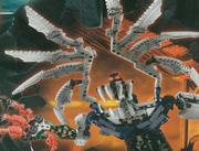 Promo Art Makuta Teridax Winged Titan