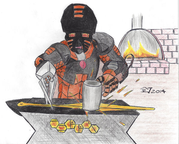 File:Ferron at the Forge, Colored Pencils, lower quality.jpg