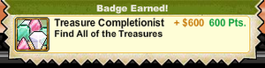 Treasure Completionist