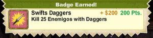 Swifts Daggers