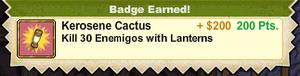 Kerosene Cactus