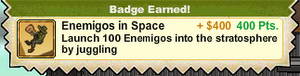 Enemigos in Space