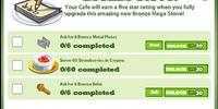 Bronze 4x 50% Ultra Stove Goals